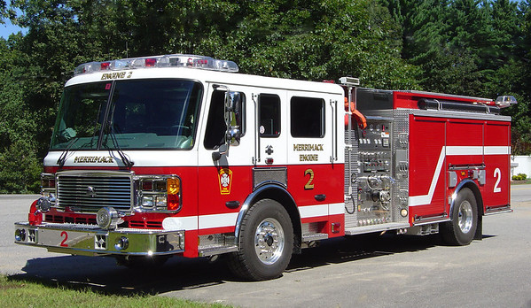 Engine 2 2005 American LaFrance 1500/1000