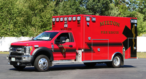 Ambulance 2   2017 Ford F-550 / Osage
