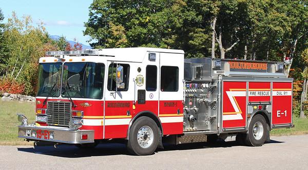 Engine 1   2007 HME / Ahrens Fox   2000 / 1000