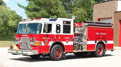 Engine 7 (Spare)  2001 Pierce Enforcer   1500 / 750