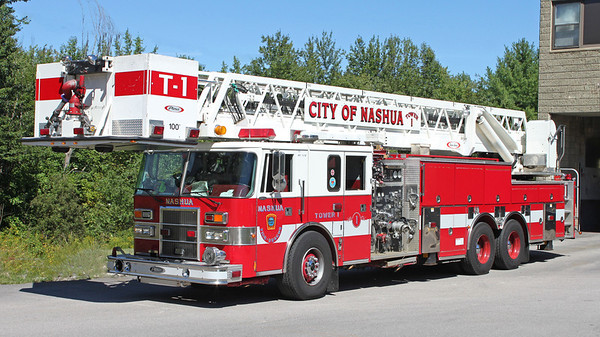 Retired   Tower 1   1998 Pierce Lance  1500 / 200   100' Tower