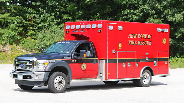 Ambulance 1.  2016 Ford F-550 / PL Custom