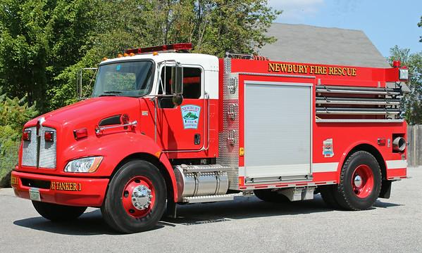 Tanker 1 2008 Kenworth / Valley 500 / 2000