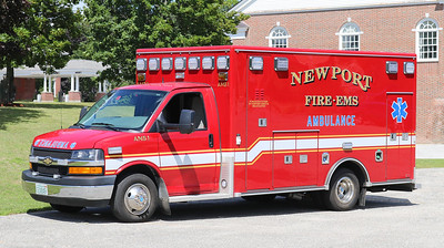 Ambulance 1   2015 Chevy / Road Rescue