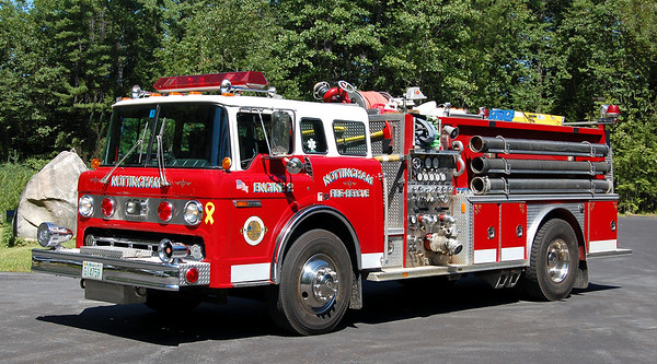 Retired Engine 2   1988 Ford C / E-One.  1250 / 1000