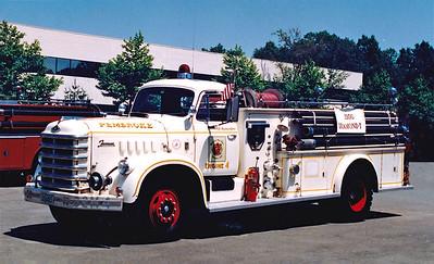 Retired Engine 4.  1956 Diamond T / Farrar.  500 / 500