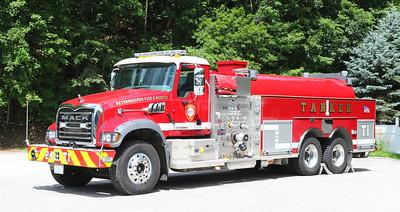 Tanker 1.  2014 Mack Granite / KME.  1250 / 3000