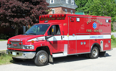 Ambulance 1 2009 Chevy Braun