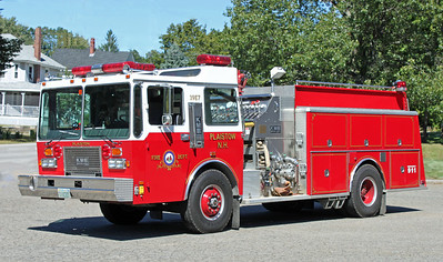Retired   Engine 7.  1987 KME.  1500 / 1500
