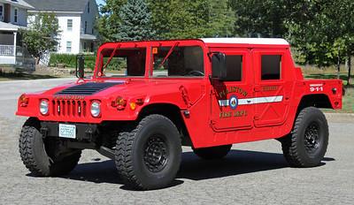 Retired.  Utility 6   1986 Humvee