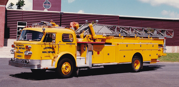 Retired L-1.  1974 American LaFrance.  85' MM