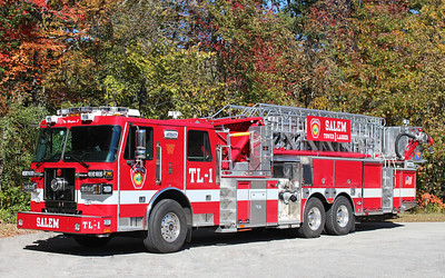 Tower Ladder 1   2015 Sutphen   1500 / 400   100' Mid Mount