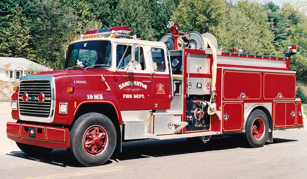 Retired Engine 2.  1989 Ford L9000 / American Eagle.  1250 / 1000