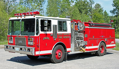 Retired  Engine 1 1989 KME Renegade 1500/1000/30F
