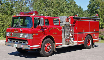 RETIRED  Engine 1 1988 Ford / Grumman 1000 / 1000