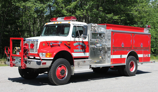 Tanker 2 2001 International / Central States