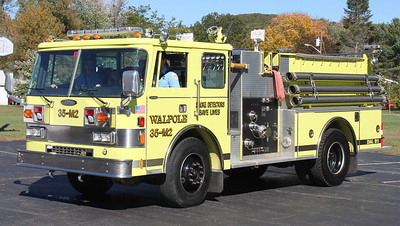 RETIRED  Engine 2   1991 Pierce  1000/750