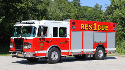 Rescue 1   2015 Spartan / Valley Heavy Rescue