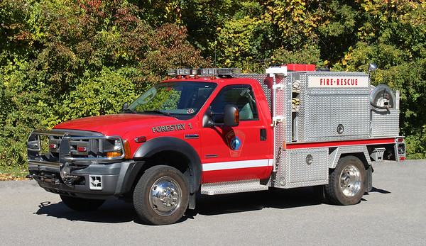 Forestry 1   2006 Ford F-550 / KME   650 / 300 / 10F