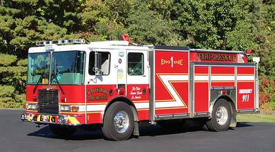 Engine 1  2013 HME / Ahrens Fox   1500 / 1000