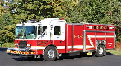 Engine 4   2009 HME / Ahrens Fox   1500 / 3000