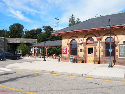 Durham Amtrak Station - UNH (Be sure to check out the Dairy Bar when you visit) !