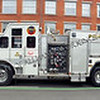 New Haven CT fire apparatus in the 2016 St. Patrick's Day Parade
