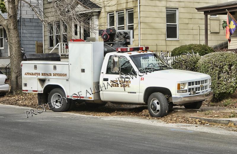 New Haven Auto Repair Division Car 51