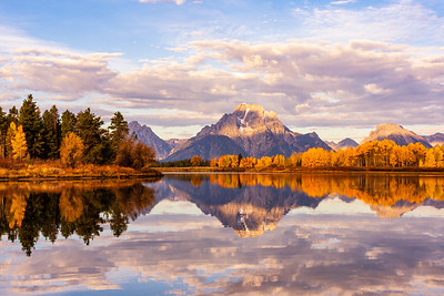 Iconic Fall Morning at Oxbow Bend