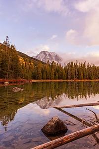 Morning at String Lake