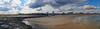Avon Beach & Inlet  12x42 2664-71 pano