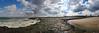 Avon Beach & Inlet  12x36 2638-50 pano