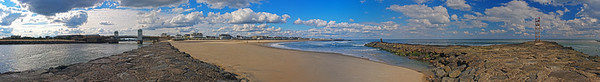 Avon Beach & Inlet  6x44 2722-35 pano
