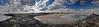 Avon Beach & Inlet  12x44 2564-83 pano