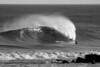 Bay Head Break & Surfer BW 12x18 DSCF5029