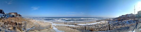 7th ave Brick Beach Pano 6x26