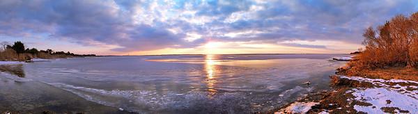 Island Beach State Park Panoramics