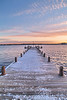 I Heights Dock Sunset 2 vert