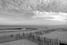 Southern Lavallette Sunset B&W DSCF9320
