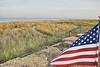 Monmouth Beach Dunes & Flag DSC_6323