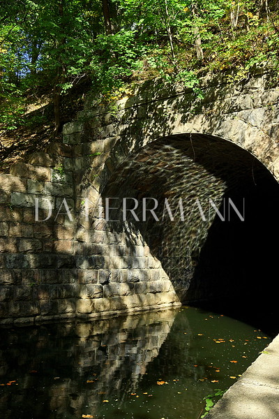 The Arches in High Bridge, New Jersey are thought to be haunted!  Photographs with unexplainable anomolies are floating around....