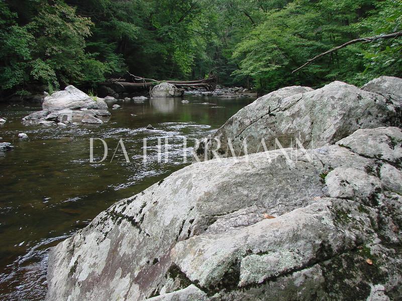 Rock beside the Still Water