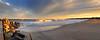Jenks Sunset Pano crop 12x30  7907-09