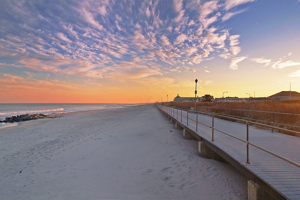 Spring Lake Beach Sunset  12x18 864x559 2 6500-01H