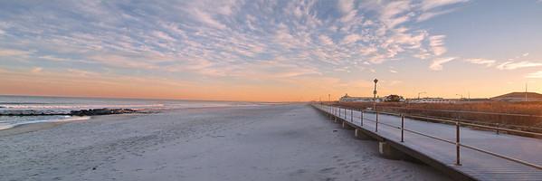 Spring Lake Beach Sunset 2 12x36  6500-01H