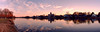Spring Lake Refections Sunset crop 2 6x40 6535-62