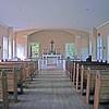 Interior of Episcopal Allaire Chapel
