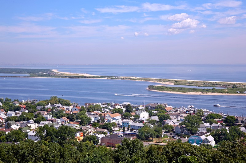 A View of Sandy Hook The Most Northern Point of Jersey Shore