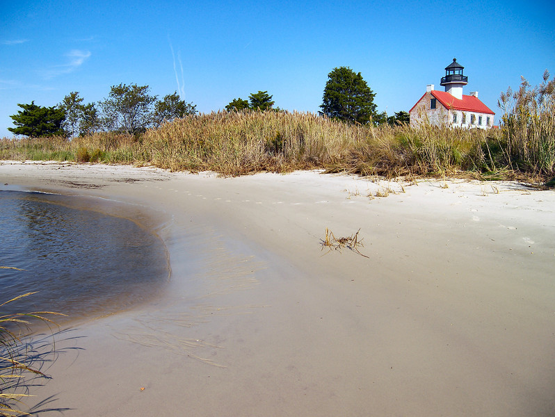 This area of New Jersey was home to oyster harvesting and fishing industries and the East Point Lighthouse marked the entrance into the Maurice River from Delaware Bay.
