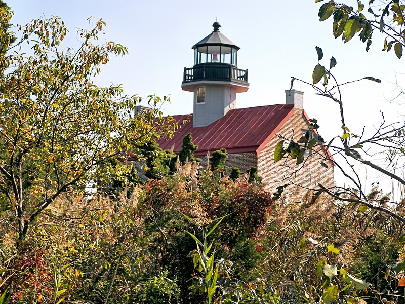 In 1912 the name of the lighthouse was changed from the Maurice River Light to the East Point Light to conform with the name used by boaters for this area.